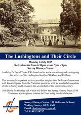 Lushington Talk - 6 July 2015