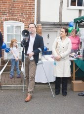2 - Dominic Raab MP for the Esher and Walton constituency says a few words