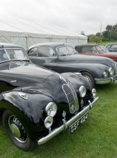 19 - Classic Cars on display