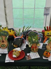 Autumn Flower Show exhibits