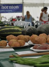 Vegetable classes on show