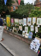 37 - Cobham Art Group display