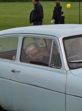 It's tiring showing a Classic Car