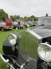 21 - Classic Cars on display