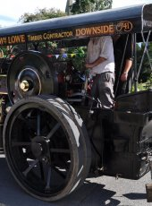 14 - Steam Engine on the move