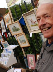 Cobham Art Group on display