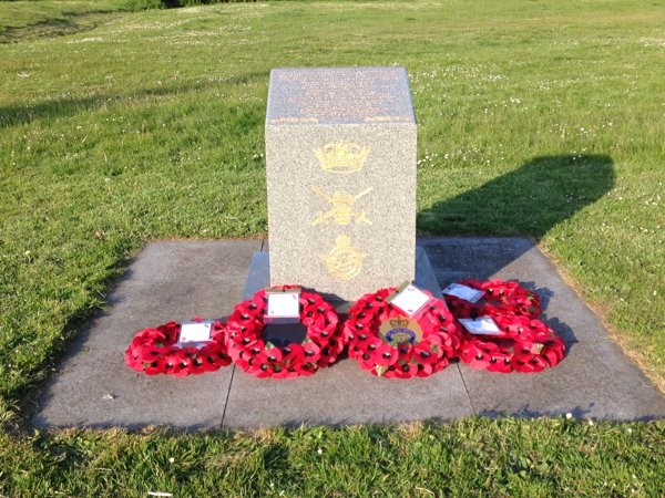 75th VE Day Poppy Wreaths