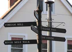 Cobham Sign Post