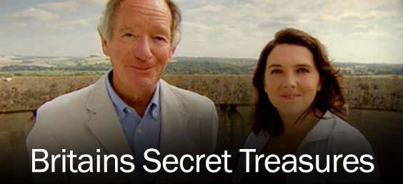 Michael Buerk and historian Bettany Hughes