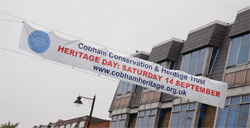 Heritage Day Road Banner