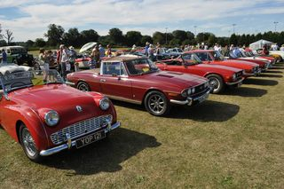Classic Cars on the Leg O'Mutton Field