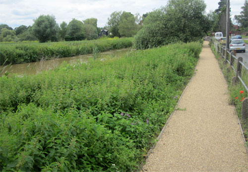 Completed Riverpath July 2012