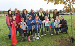 St Matthew's School Bulb Planting Team
